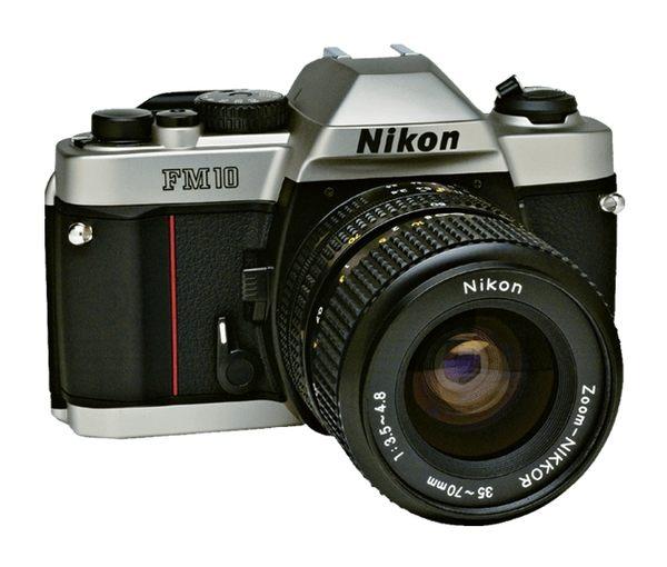 全新 nikon FM10 + 35-70mm 鏡頭 +原廠皮套 機械式 底片單眼相機 【公司貨】似 fm2