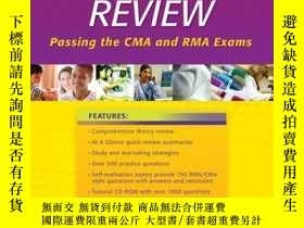 二手書博民逛書店Medical罕見Assisting Review - Passing The Cma And Rma Exams