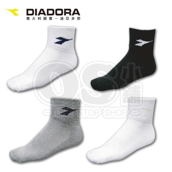 (特價) DIADORA迪亞多那 運動短襪 一雙 (毛巾底腳底加厚) 4色可選 *正品公司貨* 透氣吸汗 (OS小舖)