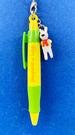 【震撼精品百貨】Gaspard et Lisa_麗莎和卡斯柏~吊飾附園子筆-黃綠#27649
