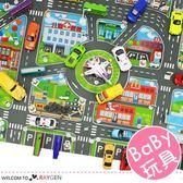 兒童益智玩具城市地圖【1F176】
