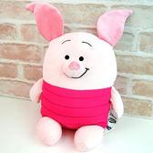 小豬 抱枕娃娃 超舒服觸感 Mocchi-Mocchi 日本正品 M號 迪士尼 該該貝比日本精品 ☆