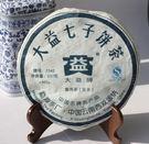大益 藍字普洱茶餅 老茶頭 生茶
