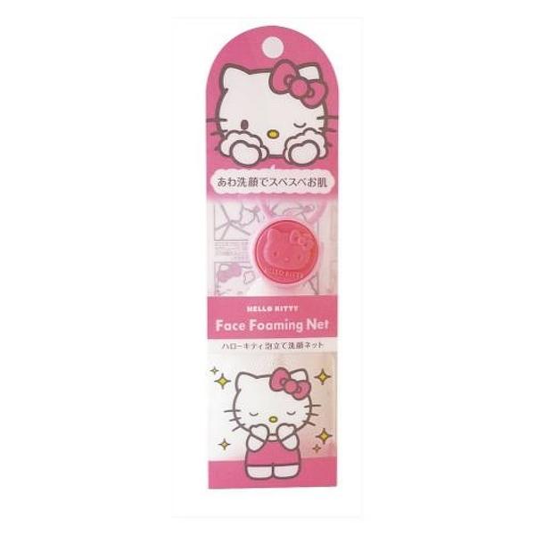 【震撼精品百貨】Hello Kitty 凱蒂貓~凱蒂貓 HELLO KITTY 泡立洗顏網 日本製#89000