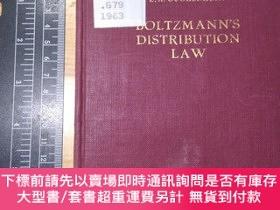 二手書博民逛書店Boltzmann s罕見Distribution Law 小本Y354044 E. A. GUGGENHE