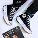 【現貨】Converse 休閒鞋 Run Star Hike 黑 白 男女鞋 運動鞋 鋸齒鞋 厚底 增高 膠底 166800C
