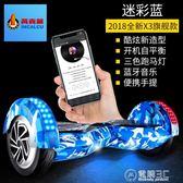 兩輪體感電動扭扭車成人智慧漂移思維代步車兒童雙輪平衡車WD   電購3C