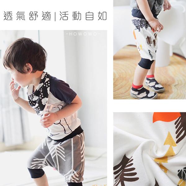 嬰幼兒短褲 幾何卡通 棉質透氣寶寶短褲 (SK107) 好娃娃