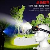 led頭燈強光充電超亮頭戴式手電筒遠射戶外感應小疝氣夜釣魚礦燈【全館免運】