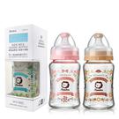 Simba小獅王辛巴 - 蘿蔓晶鑽寬口葫蘆玻璃小奶瓶 180ml