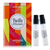 HERMES 愛馬仕 Twilly d'Hermes 淡香精(2ml)X2-隨身針管試香