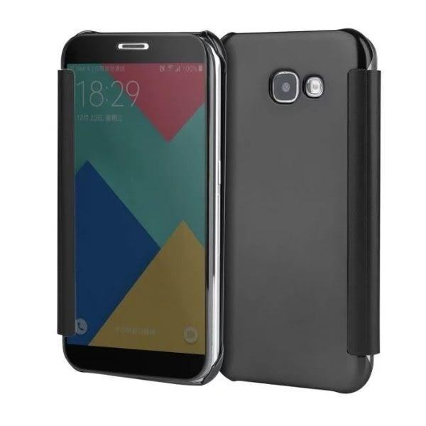 三星 S8 Plus 鏡面皮套 皮套 手機套 透視 S8+ 手機皮套 輕薄 手機套 H8