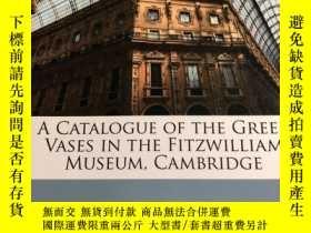 二手書博民逛書店A罕見catalogue of the Greek vases