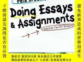 二手書博民逛書店Doing罕見Essays And AssignmentsY255562 Pete Greasley Sage