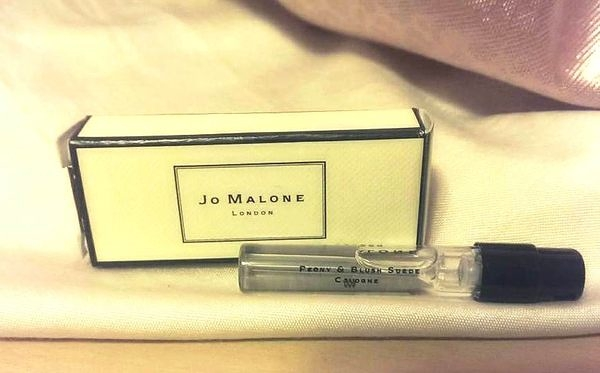 *禎的家* 英國香水 Jo MALONE 牡丹與胭紅麂絨 Peony & Blush Suede 1.5ML 試管小香