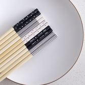 『5雙入』 北歐風 『 竹筷 』 環保筷 筷子 防燙竹筷 環保 餐具 天然竹 健康防霉 環保耐用