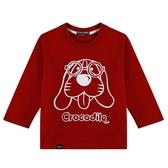 『小鱷魚童裝』小狗印花T恤(02號~10號)534432