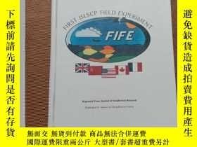 二手書博民逛書店FIFE罕見Special Issue first islscp field experimentY36812