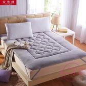 加厚榻榻米法萊絨珊瑚絨軟床墊子床褥保護墊折疊學生法蘭絨 快速出貨