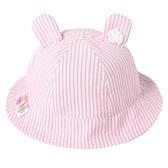純棉嬰兒帽子遮陽帽可愛兔兒多寶寶防曬太陽帽0-1-3歲女童漁夫帽