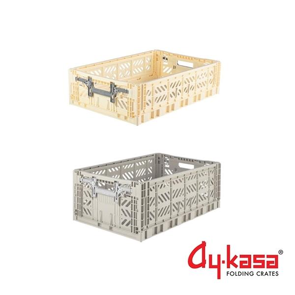 Ay-kasa L+L15土耳其籃2入組-香草淺灰(L15-香草、淺灰)