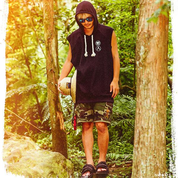 KID ® Outdoor Sandal 戶外拖鞋 黑 (野人系列)