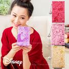Disney迪士尼皮革壓印金屬簍空雕花珍...
