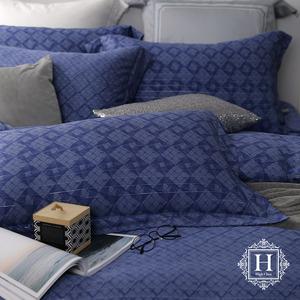 【HOYACASA】逐夢星空加大60支銀纖維天絲被套床包四件組