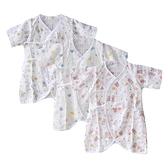 新生兒紗布衣 寶寶蝴蝶衣雙層紗布衣 新生兒衣服 寶寶服 88667