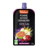 Vitabio 有機優鮮果PLUS蘋果紅心芭樂120G-法國原裝進口12個月以上嬰幼兒專屬副食品