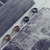 ✦ 正韓 ✦ early Morning - 繞圈 甜甜圈 圓圈耳環 韓國帶回 極簡銅質【TDC033】