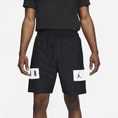 NIKE 運動褲 短褲 JORDAN DRY 黑 白抽繩 籃球短褲 男 (布魯克林) CZ4772-010