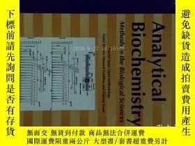 二手書博民逛書店Analytical罕見Biochemistry (Journal) 1 05 2017 分析生物化學學術Y1