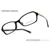 EMPORIO ARMANI 光學眼鏡 EA3009F 5017 (黑) 經典時尚 平光鏡框 # 金橘眼鏡