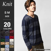 毛衣V領針織衫