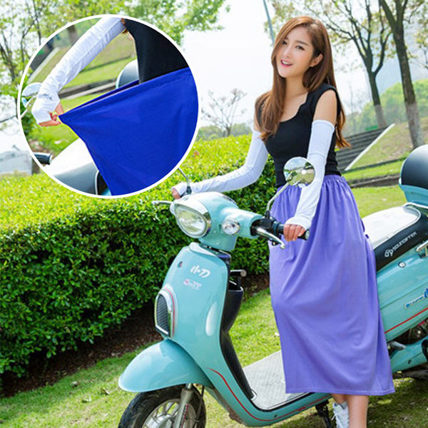 [現貨] 防曬防走光透氣機車裙 遮陽裙 防曬裙 SLIN9449