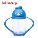 美國 LOLLACUP 小雞吸管學習水杯/喝水杯/練習杯_海底雞(藍)LOLLALAND