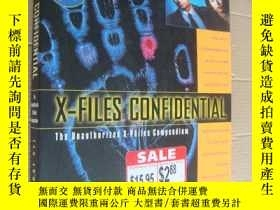 二手書博民逛書店X-FILES罕見CONFIDENTIAL:The unauth