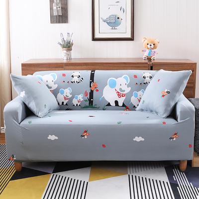 歲末清倉~卡通圖案現代彈力沙發套 全包沙發罩 四季沙發巾 二人沙發系列 (145-185cm適用)