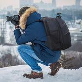 單反相機雙肩包佳能尼康數碼攝影包男女多功能戶外防水大容量 MKS小宅女