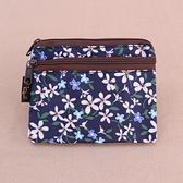 雨朵防水包 M050-737 三拉鍊小零錢包包