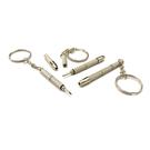 【KEL MODE】五合一多功能眼鏡螺絲起子-附鑰匙圈攜帶方便(-買二送二 4入)