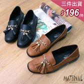 包鞋 方頭流蘇可後踩包鞋 MA女鞋 T7196