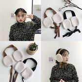 韓國chic冬季少女可愛甜美毛絨系帶保暖護耳耳罩防風耳包學生耳套