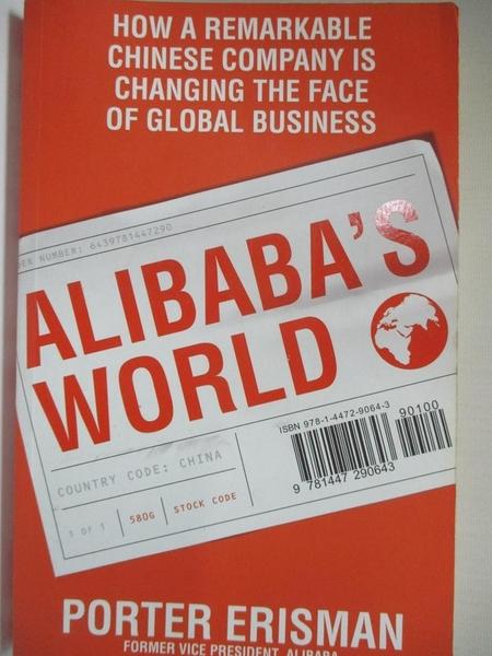 【書寶二手書T1/財經企管_I9O】Alibaba's World: How one remarkable Chinese…