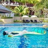 浮毯 水趣水上浮毯水上沖關沖浪板浮板摩托艇快艇水上摩托艇水上魔毯YTL