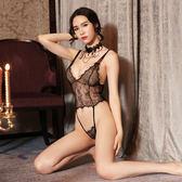 情趣內衣女性感蕾絲透明極度誘惑三點式夜店激情套裝sm騷透視制服