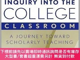 二手書博民逛書店預訂Inquiry罕見Into The College Classroom: A Journey Toward S