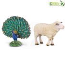 小牛津 collectA動物模型-陸地動物系列 英國高擬真模型-6款可選【佳兒園婦幼館】
