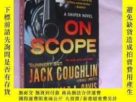 二手書博民逛書店ON罕見SCOPE (a Sniper Novel) 《瞄準範圍